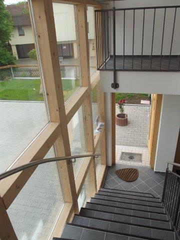 Eingang Appartements Bad Aibling
